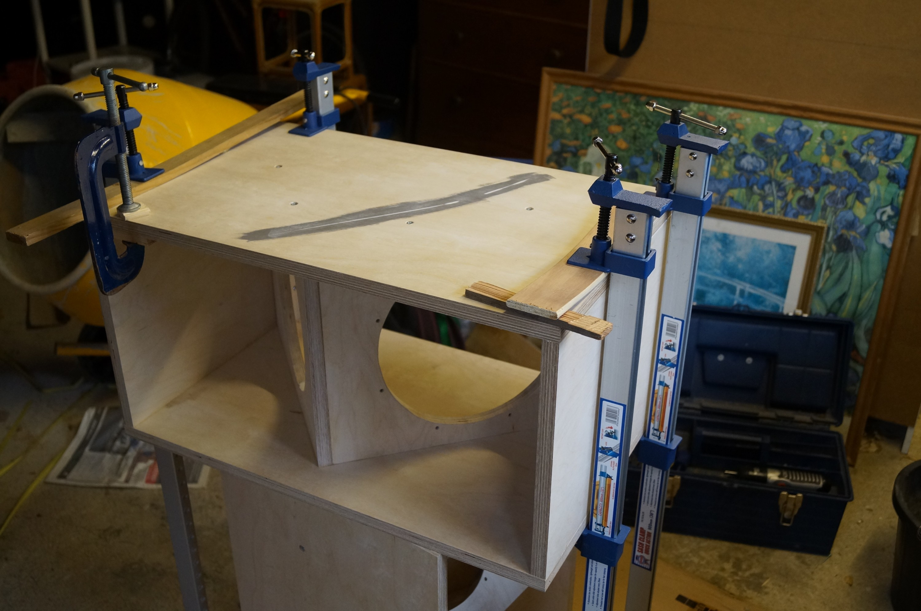 LX 521 Loudspeaker Build | Andrew Ashford's Website
