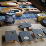 A busy work bench!